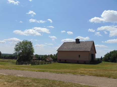 3 story barn