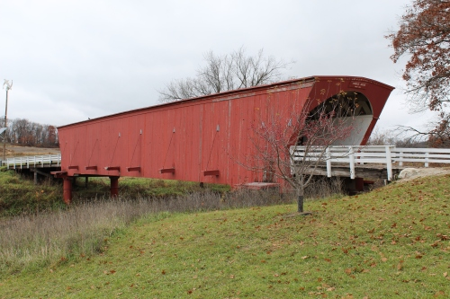 Hogback bridge - Madison county Iowa