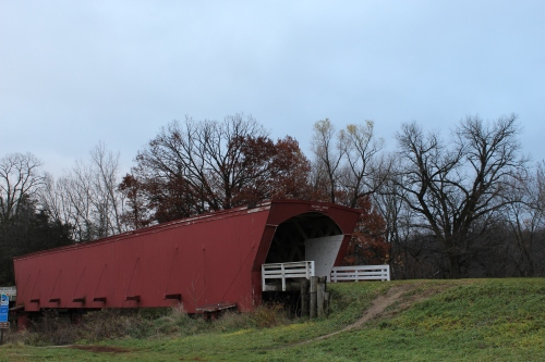 Holliwell Covered Bridge built 1880 Not posted on alamy