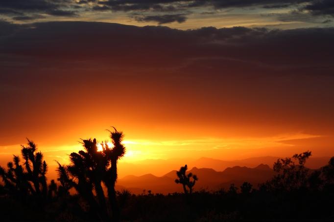 Mohave County Az sunset