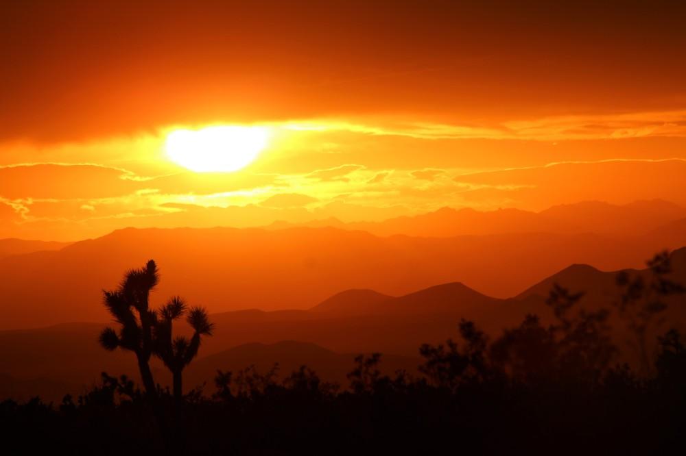 Sunset Mohave Cty, Arizona