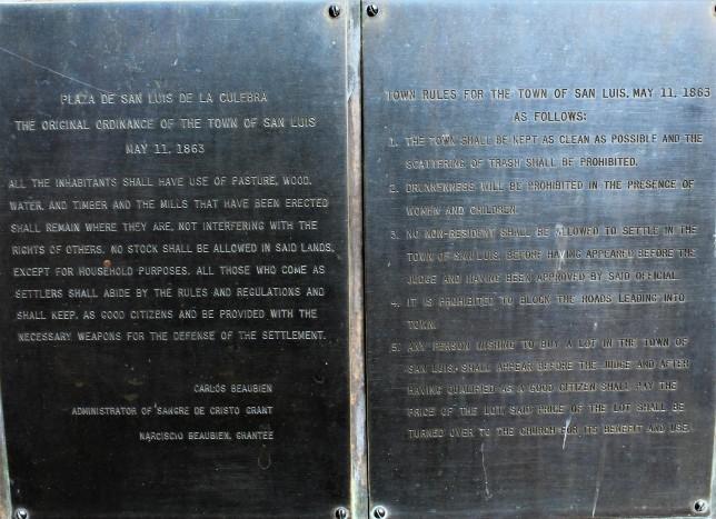 Rules in San Luis